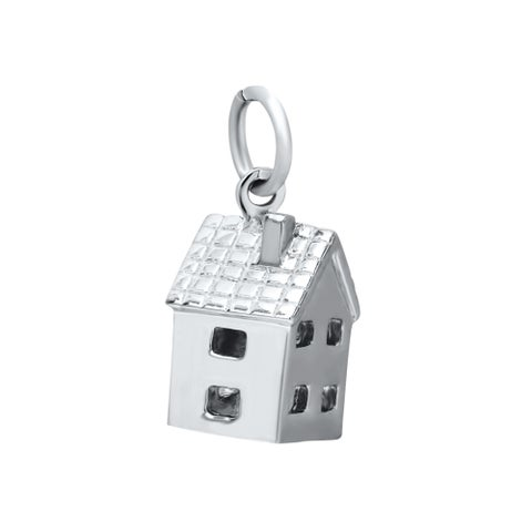 Sterling Silver House Charms