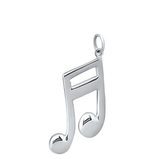 Sterling Silver Double Musical Note Charms