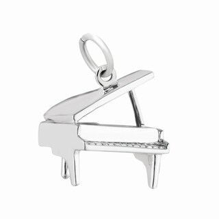 Sterling Silver Piano Charms