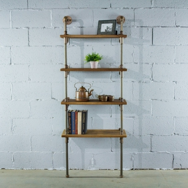Os Home And Office Model P67 Rb Lndustrial 67 Inch Tall 4 Shelf