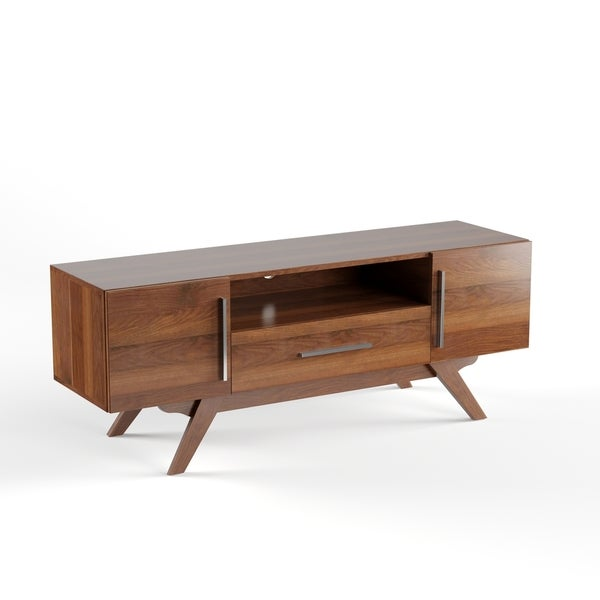 Shop Carson Carrington Arendal Mid Century Tv Stand In