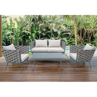 Infinity Firenze 4-piece Outdoor Sofa Set Collection