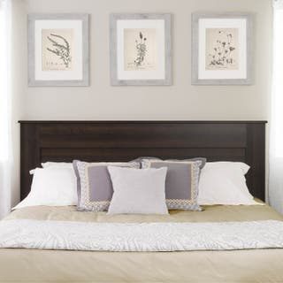 Prepac King Flat Panel Headboard Multiple Finishes