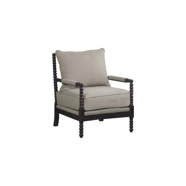 Sensational Shop Best Master Furniture Beige Espresso Upholstered Wood Ibusinesslaw Wood Chair Design Ideas Ibusinesslaworg