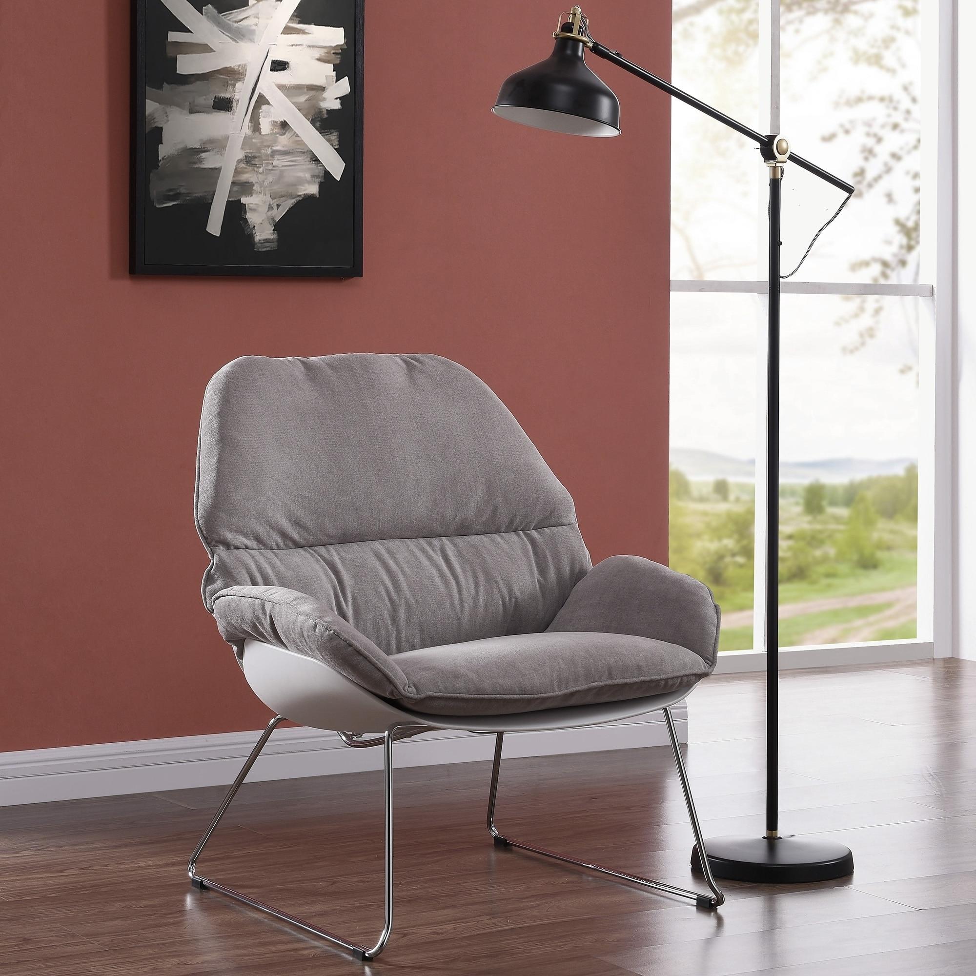 Wondrous Finn Accent Chair Charcoal Unemploymentrelief Wooden Chair Designs For Living Room Unemploymentrelieforg