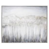 Nightdusk Silver Gallery Wrapped Framed Art