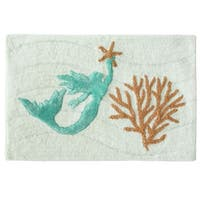 Sea Splash bath rug by Bacova