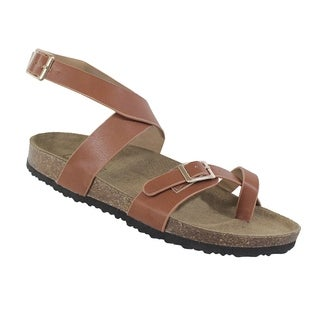 Yoki-Gian-153 Women's Ankle Strap Sandal (More options available)