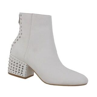 Yoki-Nonita Women's Embellished Ankle Booties