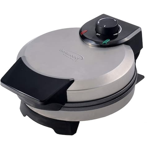 Brentwood Select TS-230S Non-Stick Belgian Waffle Maker, Stainless Steel