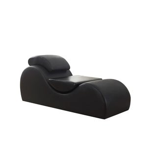 Merveilleux Bang Bang Modern Upholstered Faux Leather Yoga Stretch Relaxation Living  Room Chaise/Chair