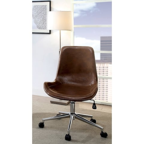 Crawle Urban Leather Office Chair by FOA