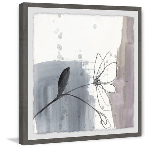 Marmont Hill - Handmade Blush Flower Splash III Framed Print