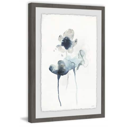 Marmont Hill - Handmade Midnight Blossoms II Framed Print