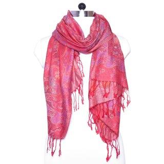 "Women Pashmina Cashmere Fashion Paisley Scarfs Shawl Wrap Winter Scarves - 27""x72"""