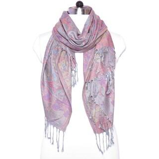 "Festival Women Scarf Pashmina Cashmere Shawl Paisley Scarves Shawls Gift For Her Him Wedding Wrap - 27""x72"""