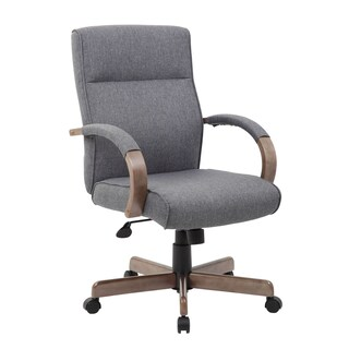 Boss Office Products Grey Modern Executive Conference Chair