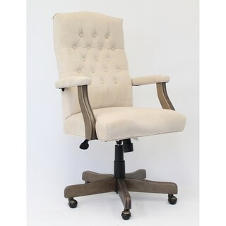 Boss Office Products Champagne Executive Velvet Chair