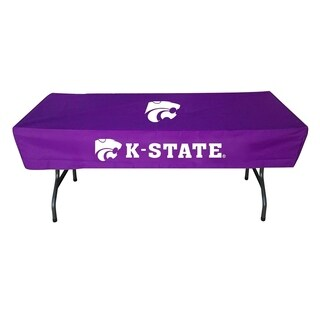 Rivalry NCAA Kansas State Wildcats Sports Team Logo Table Cover - 6 Foot