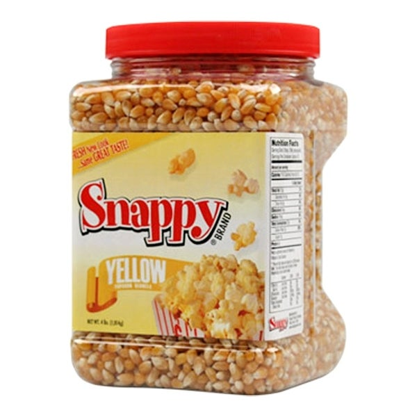 Shop Snappy Popcorn 4 Pound Yellow Butterfly Kernel
