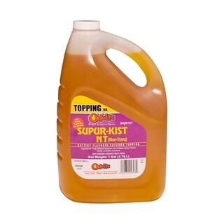 Snappy Popcorn 1 Gallon Odell's Supur-Kist Non Trans Butter Flavor Popcorn Topping Oil