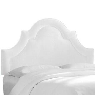 Skyline Furniture Arched Border Headboard in Velvet