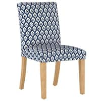 Skyline Furniture Dining Chair in Elliot Floral Navy - N/A