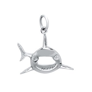 Sterling Silver Shark Charm