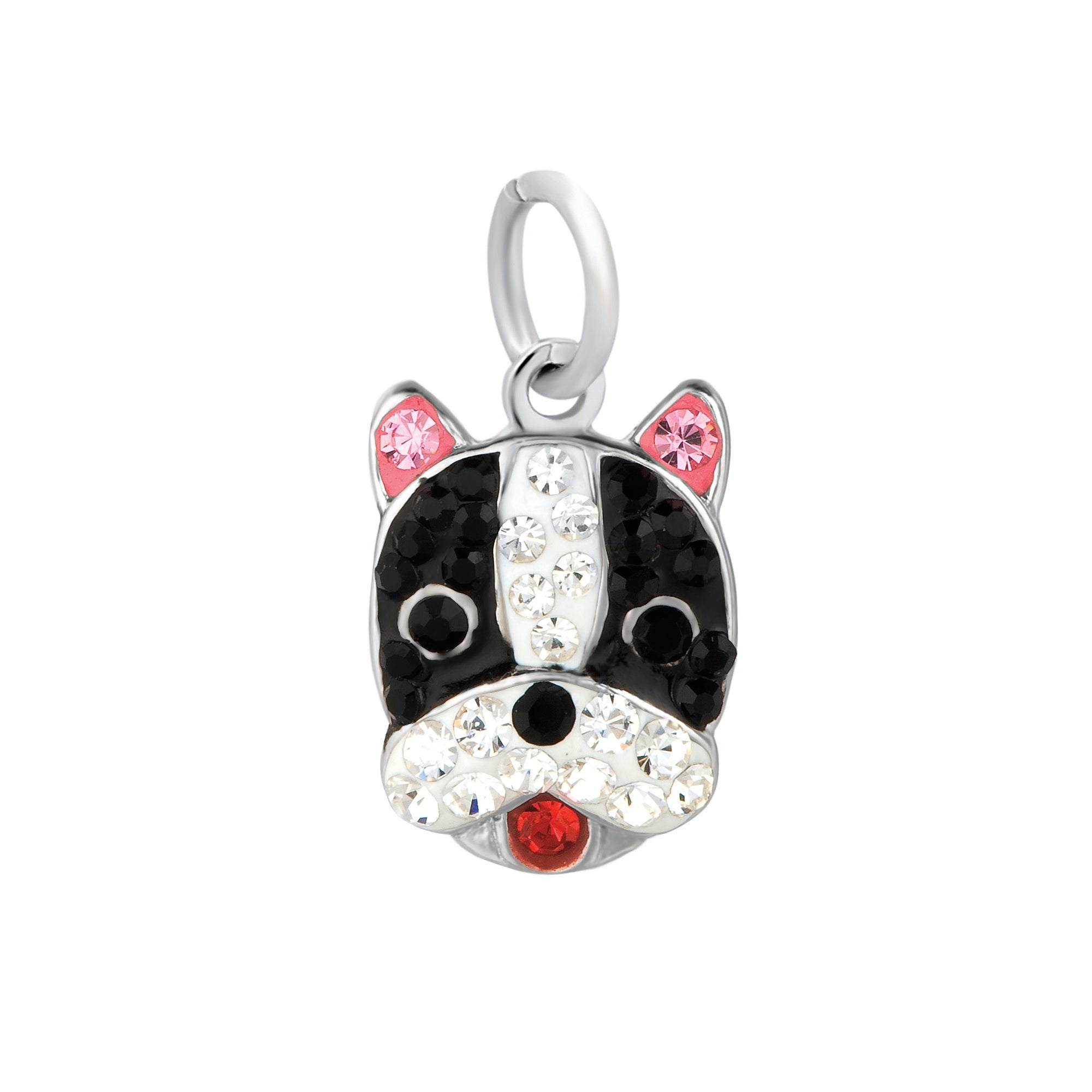 Free Shipping Collie Mini Sterling Silver European-Style Charm and Bracelet