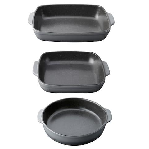 Gem 3pc Stoneware Bake Set