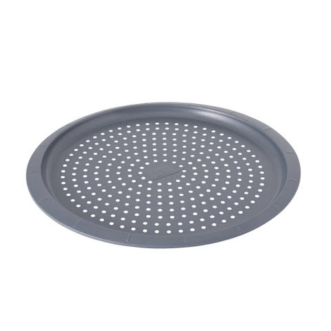 """GEM 12.5"""" Non-Stick Perforated Pizza Pan"""