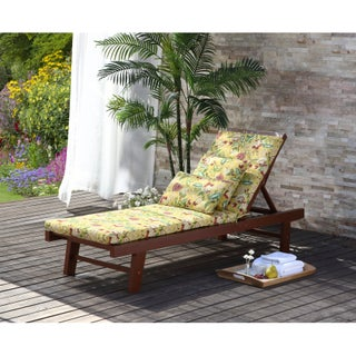 Waverly Olivia Outdoor Chaise Lounge Cushion