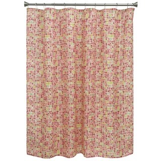 Mosaic Tiles shower curtain by Bacova