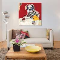Great Dane by Michel Keck Canvas Print