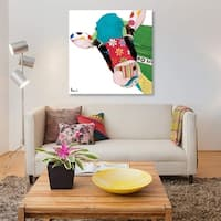Cow I by Michel Keck Canvas Print