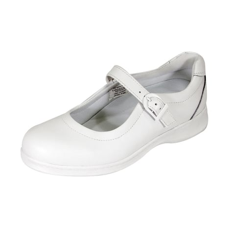 24 HOUR COMFORT Cara Women Extra Wide Width Adjustable Mary Jane Shoes