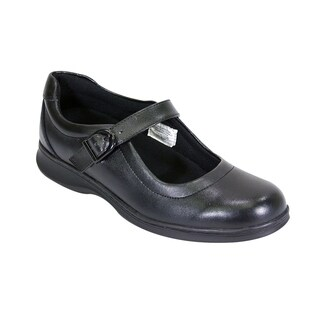 24 HOUR COMFORT Leann Women Wide Width Mary Jane All Day Comfort Shoes