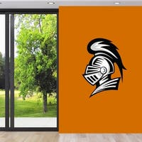 Knight Mascot Printed Wall Decals