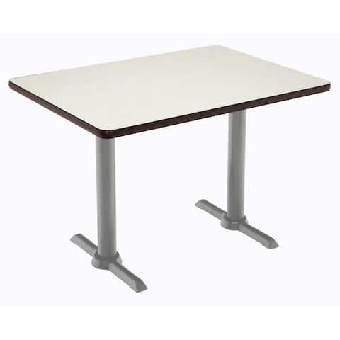 KFI Mode Multipurpose Table, Silver T-leg Base, Standard Height