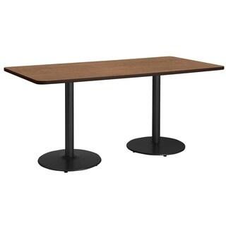 KFI Mode Multipurpose Table, Round Silver Base, Standard Height