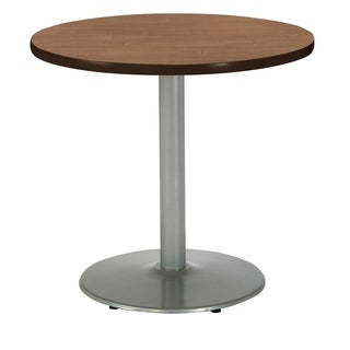 KFI Mode Round Top Multipurpose Table, Round Silver Base, Standard Height