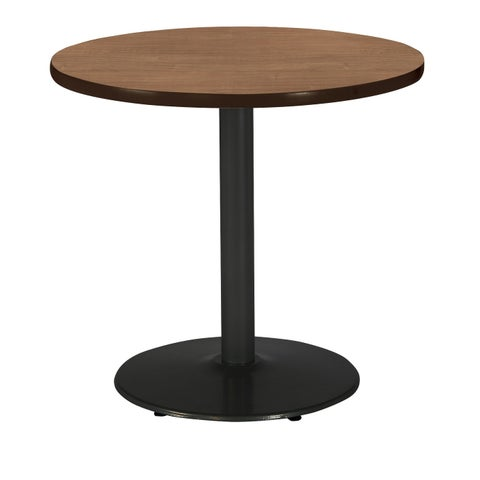 KFI Mode Round Top Multipurpose Table, Round Black Base, Standard Height