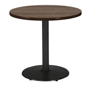 KFI Mode Round Top Multipurpose Table, Round Black Base, Standard Height