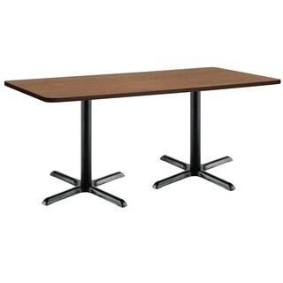 Mode Multipurpose Table, Black X Base, Standard Height