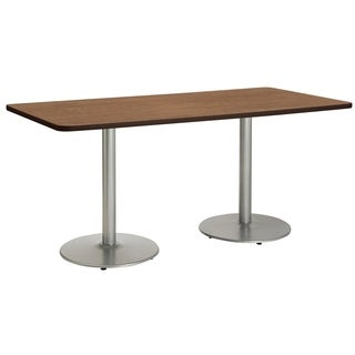 Mode Multipurpose Table, Round Silver Base, Bistro Height