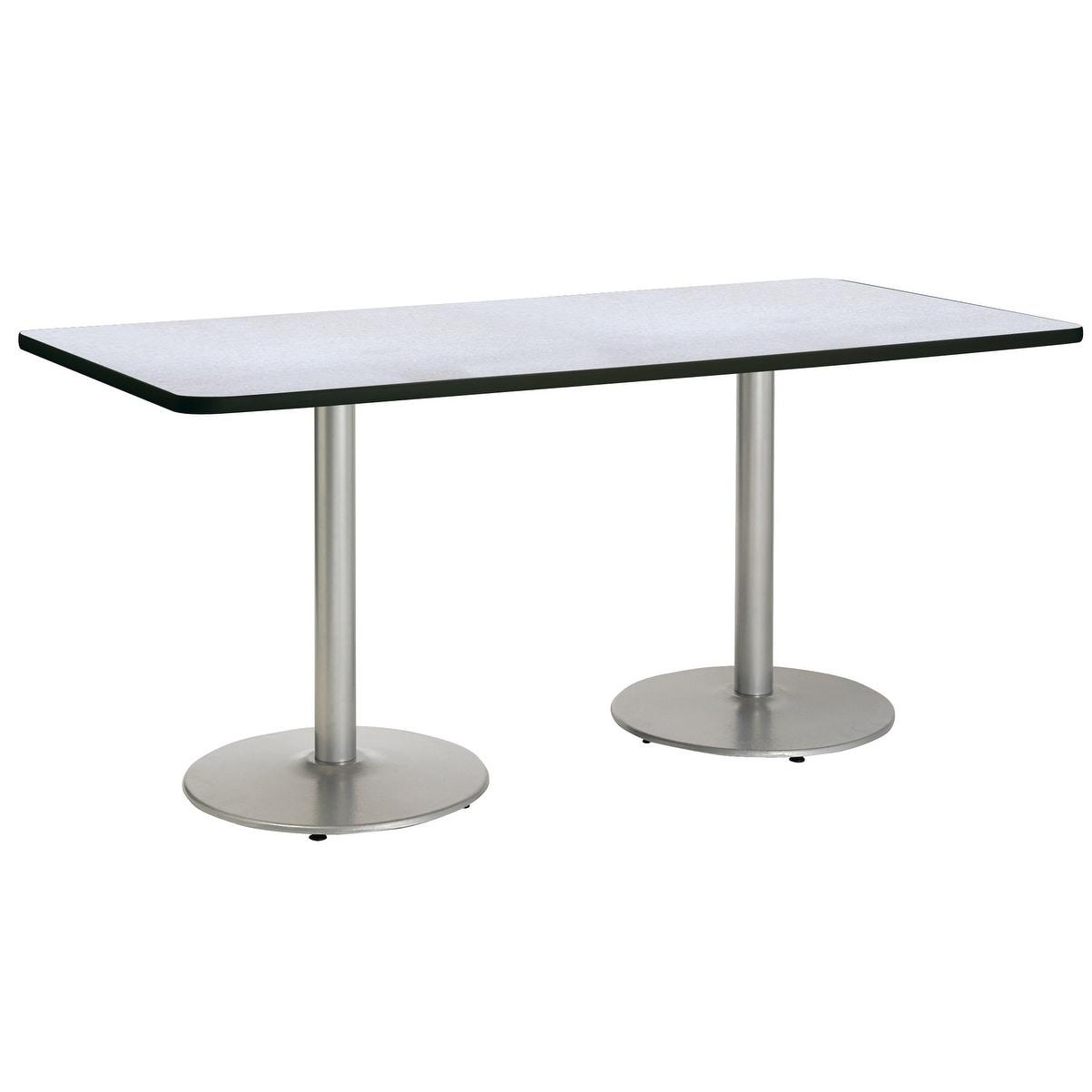 Shop Kfi Mode Multipurpose Table Round Silver Base Standard