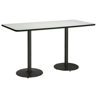 Mode Multipurpose Table, Round Black Base, Bistro Height
