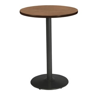 KFI Mode Round Top Multipurpose Table, Round Black Base, Bistro Height
