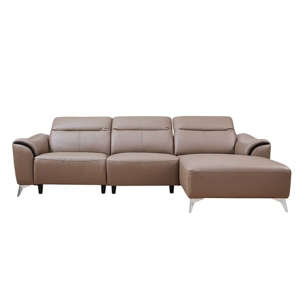 Luca Home David Brown Right Sectional