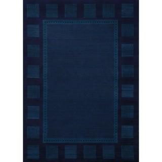 "Westfield Home Ulubre Gaia Navy Blue Area Rug - 5'3"" x 7'6"""